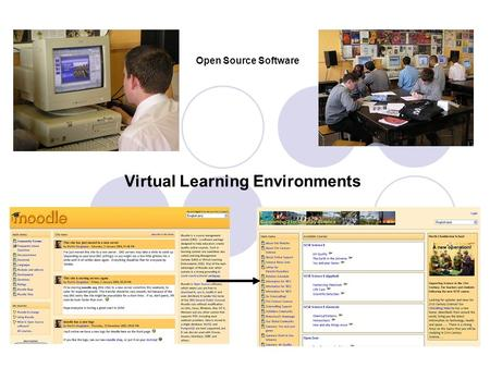 Virtual Learning Environments Open Source Software.