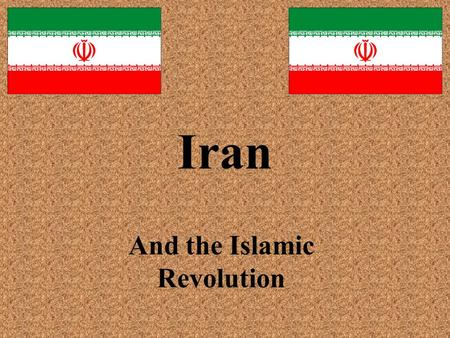 Iran And the Islamic Revolution. Certain materials are included under the fair use exemption of the U.S. Copyright Law and have been prepared according.