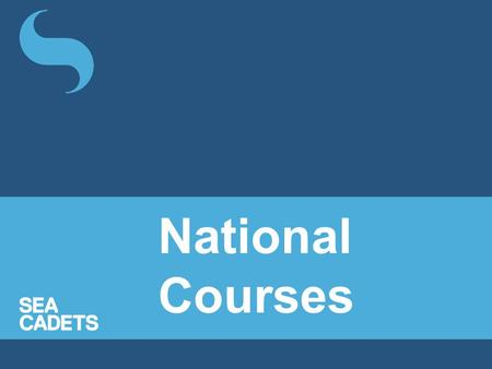 National Courses.