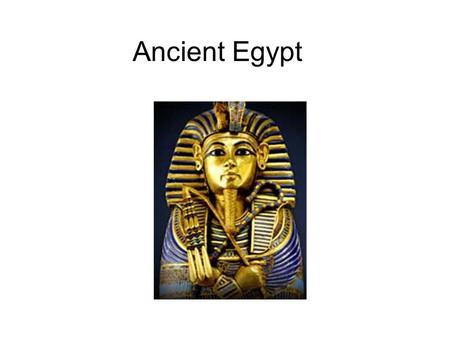 Ancient Egypt. The Nile River The Seasons of the Nile Flooding Season Planting Season Harvest Season.