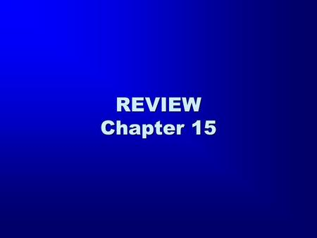 REVIEW Chapter 15. h` zw/h to.n qeo,n kardi,a su,