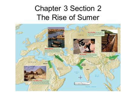 Chapter 3 Section 2 The Rise of Sumer. An Advanced Society What is rural? It means countryside. Most people of Sumer lived in these areas and were called.