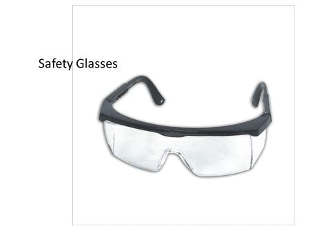 1 Safety Glasses 2 CHISEL 3 Micrometer 4 Feeler gauge.