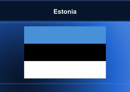 Estonia. Location A country of northern Europe west of Russia, bordering on the Baltic Sea. The area of Estonia is 45,227 km2.