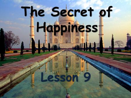 The Secret of Happiness Lesson 9. Have you ever...? Have you ever played baseball? Asking about a past experience. Asking about a past experience.