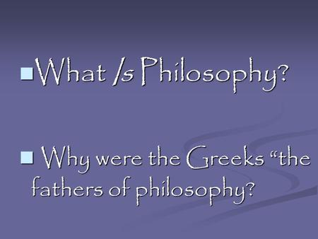 Why were the greeks defeated at