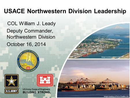 USACE Northwestern Division Leadership