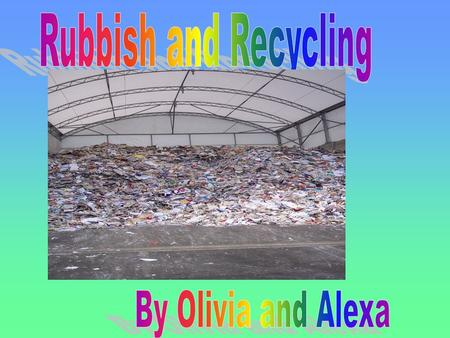 In this research project I will talk about some of the causes of to much rubbish in the landfill; people to lazy to recycle, to many <strong>plastic</strong> <strong>bags</strong> in the.