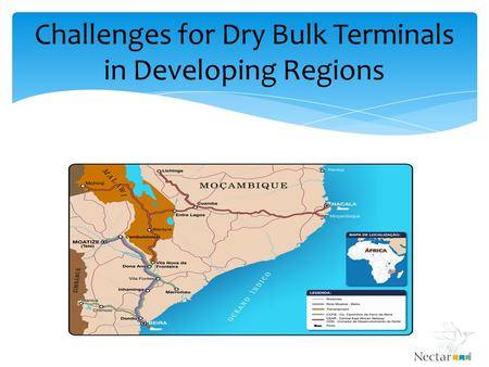 Challenges for Dry Bulk Terminals in Developing Regions.