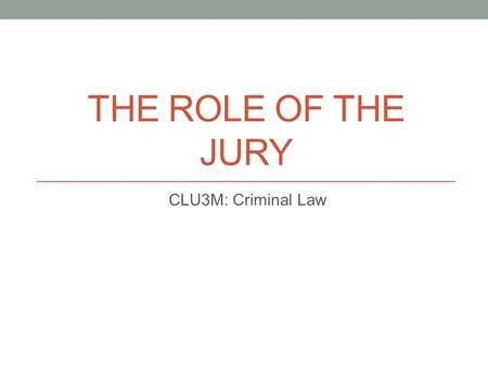 role of the jury in the english legal system Yale law school yale law school legal scholarship repository faculty scholarship series yale law school faculty scholarship 1-1-1990 the role of the civil jury in a system of private.