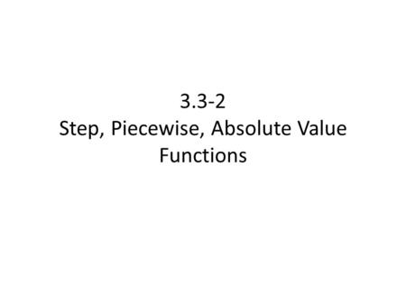 how do i write an absolute value function as a piecewise function