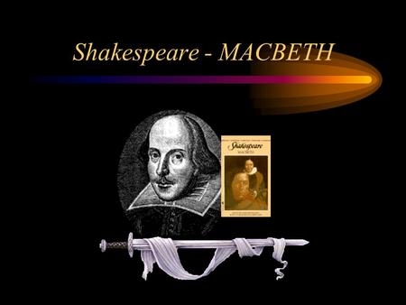 Shakespeare - MACBETH.