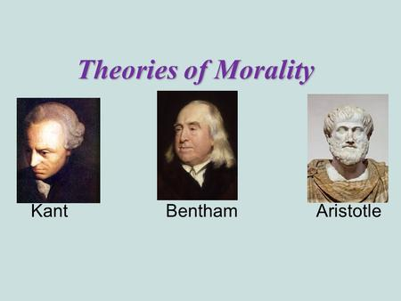 aristotle morality Aristotle and kant on virtue1  rightly criticized for making morality an issue of cold and  anyone who has read aristotle's ethics and has also read modern.