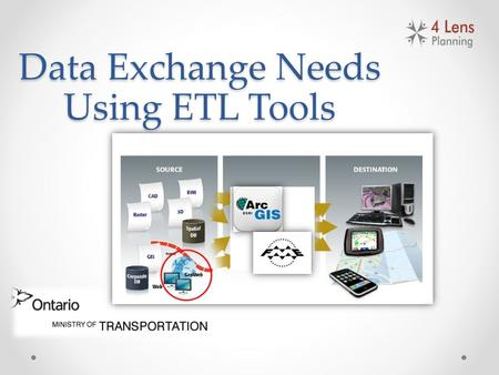 Data Exchange Needs Using ETL Tools. Overview Client Project Issue Methodology Schedule & Budget Results & Recommendations Challenges Acknowledgments.