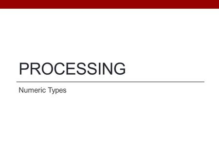 how to find variable type in processing