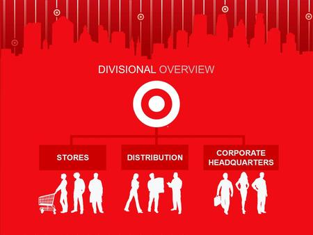 STORES DISTRIBUTION CORPORATE HEADQUARTERS DIVISIONAL OVERVIEW.