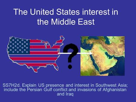 an attempt to justify the united states invasion of iraq The arab gulf has 65% of proven oil reserves in the world, and iraq 12%  was  it ever possible for saddam hussein to win against usa in 2003 invasion of iraq   my point is that an effort is not a colossal mistake until you fail to follow.