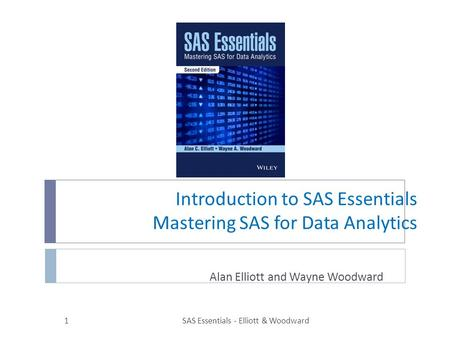 Introduction to SAS Essentials Mastering SAS for Data Analytics