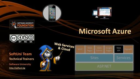 Microsoft Azure SoftUni Team Technical Trainers Software University