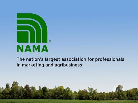 NAMA membership is a major step in your professional development. You'll gain information and insights that will help your company stay competitive. Membership.