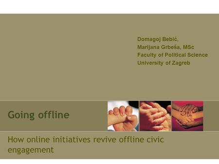 How online initiatives revive offline civic engagement