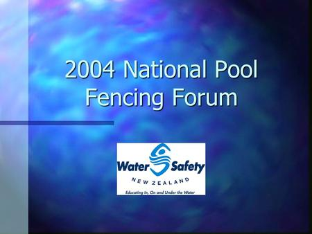 2004 National Pool Fencing Forum. Hassall, I. (1989) Thirty-six consecutive under 5 year old domestic swimming pool drownings. Australian Paediatric Journal,