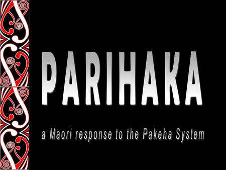 Parihaka was a large village in South Taranaki, founded during the punitive years of mass confiscation and dispossession of Māori from their lands. By.