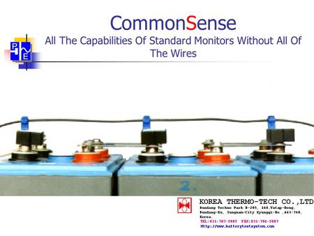 CommonSense All The Capabilities Of Standard Monitors Without All Of The Wires.