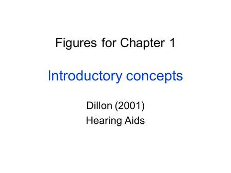Figures for Chapter 1 Introductory concepts