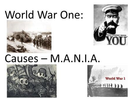 an analysis of nationalism in world war i and ii The world warring nations were divided into two groups namely 'the central powers' and 'the nationalism and alliance world war i vs world war ii.