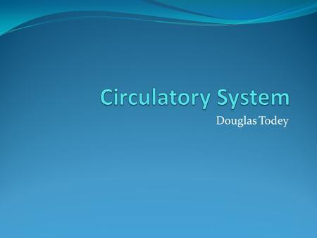Douglas Todey. Functions The circulatory system provides a transport system. It transports gases, nutrients to cells and waste away from cells and transports.