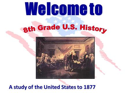 A study of the United States to 1877 1. You will need a sheet of paper and a pen. 3. Your task is to write as many words or phrases that come to your.