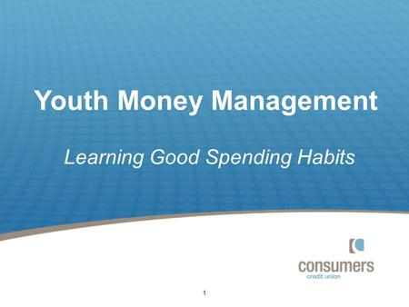 11111 Youth Money Management Learning Good Spending Habits.
