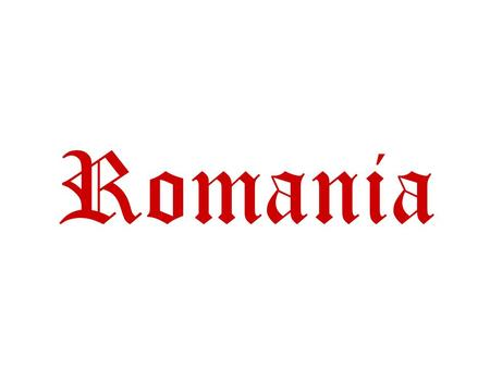 Romania Romania's flag This is Romania's flag. There are three bands verticals: one blue, one yellow and one red.
