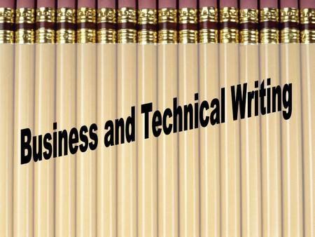 Definition: Most business and all technical writing communicates specific, factual information to a defined audience for the purpose of informing, instructing,