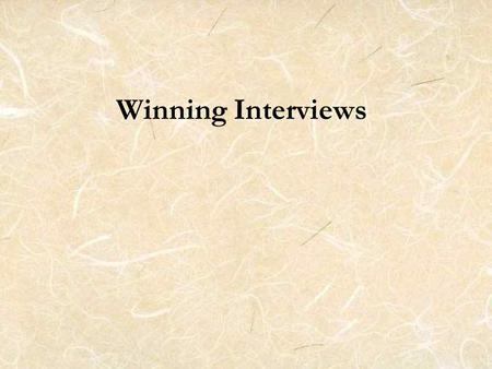 Winning Interviews. Pomerantz Career Center Serves students and alumni on the UI campus Is located just north of the Pappajohn Business Building For more.