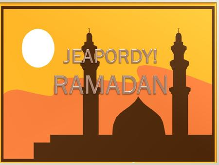 100 200 300 400 500 Ramadan takes place during which month of the Muslim calendar?