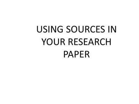 using quotations in research papers