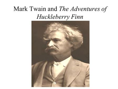 an analysis and a comparison of the adventures of huckleberry finn by mark twain and the catcher in