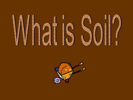 Soil is a layer at the surface of the earth composed of a mixture of weathered rock, organic matter, mineral fragments, water, and air which is capable.