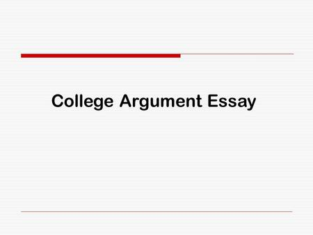 Argumentative Essay Topics On Education