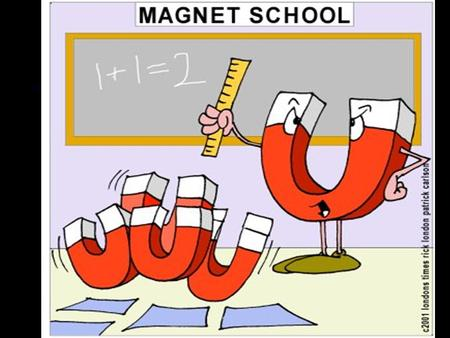 "Magnetism Children are fascinated by magnets! ""floating"" paper clip ""jumping"" nails ""iron filing"" cartoon hair."