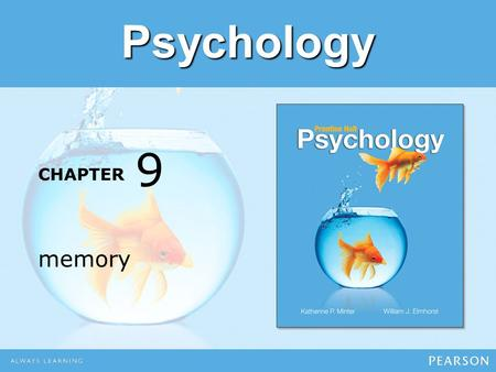 CHAPTER Psychology memory 9. Module 23 Encoding and Storage.