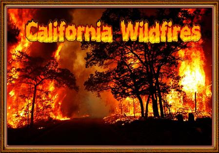 Drought and extreme weather have fueled numerous wildfires in California, destroying property and forcing evacuations. More than 8,000 firefighters are.