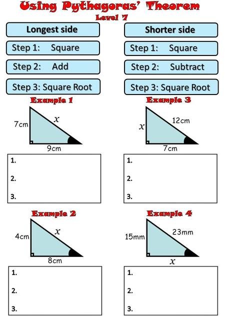Pythagoras Theorem Case Study  Ppt Video Online Download