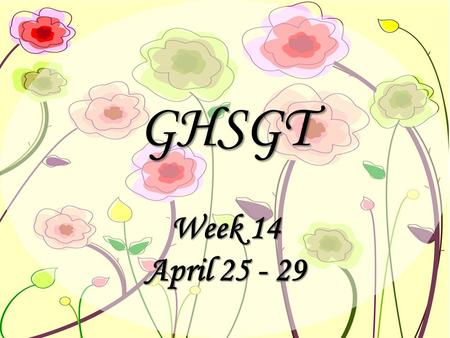 GHSGT Week 14 April 25 - 29. Monday, April 25, 2011 Journal # 5: Journal # 5: Why is Christopher's world shattered by his father's confessions? (lying.