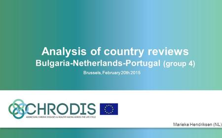 Analysis of country reviews Bulgaria-Netherlands-Portugal (group 4) Brussels, February 20th 2015 Marieke Hendriksen (NL)