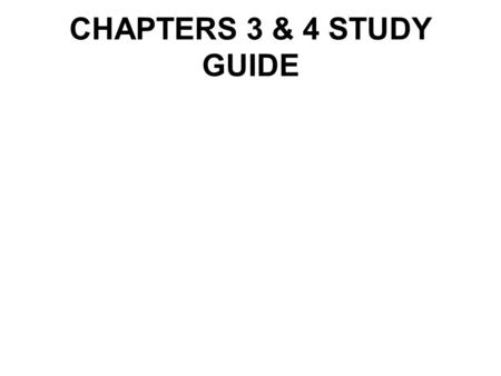 CHAPTERS 3 & 4 STUDY GUIDE. Arson- the willful and malicious burning of a house or building.