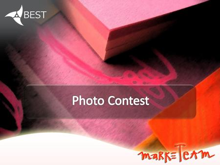 You can submit your photos to compete with the best ones taken in all BEST events. Then the photos are used for promotion materials.
