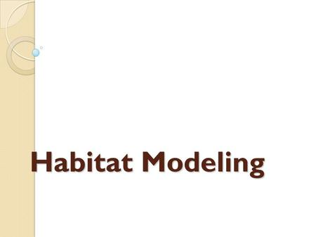 Habitat Modeling. Goals Predict the locations of as-yet undiscovered refuges in the Great Lakes Develop management protocols to create new unionid habitat.